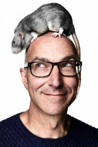 Menno with rat (credit New York Magazine)